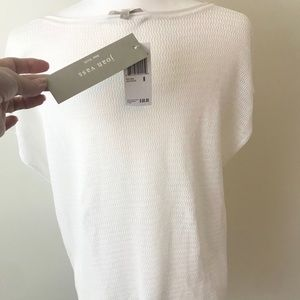 Joan Vass Sweaters - NWT Joan Vass White Lightweight Sweater 🍁